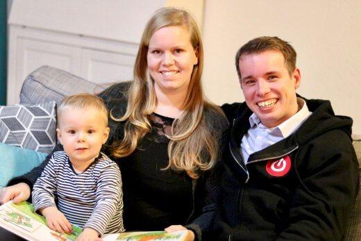 Franka, Aaron en ik :-)