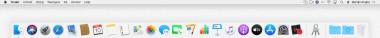 Dock en menubalk op de Mac: wat is wat?
